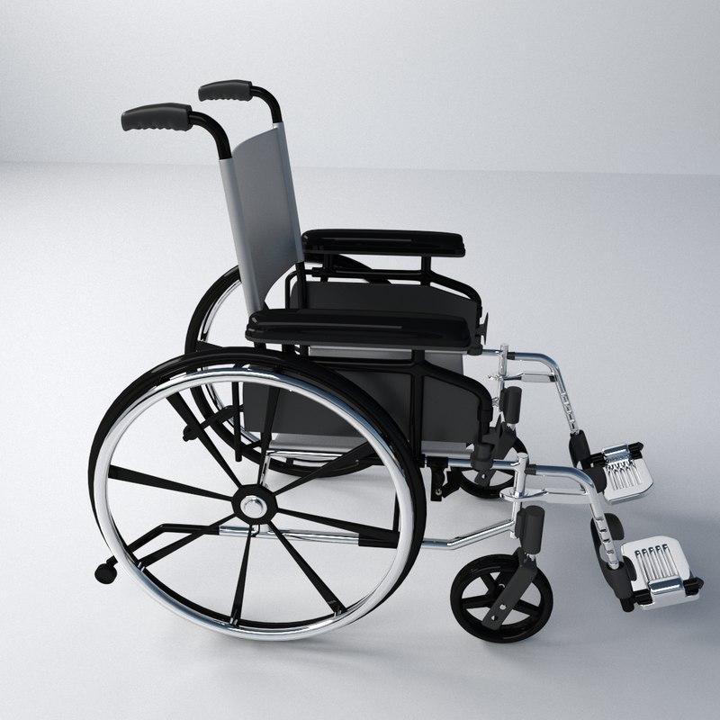 maya wheelchair chair wheel