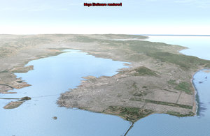 3d san francisco bay area model