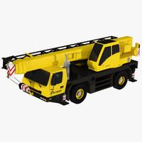 Low poly GMK 2035 Crane