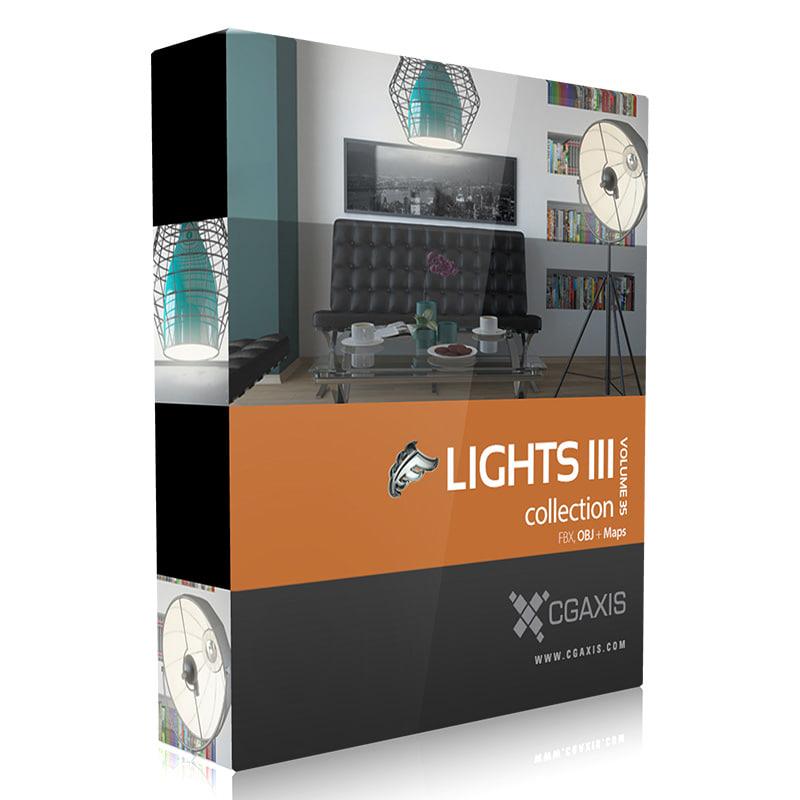 light 3d obj