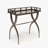 Baker Furniture DRINKS TRAY TABLE