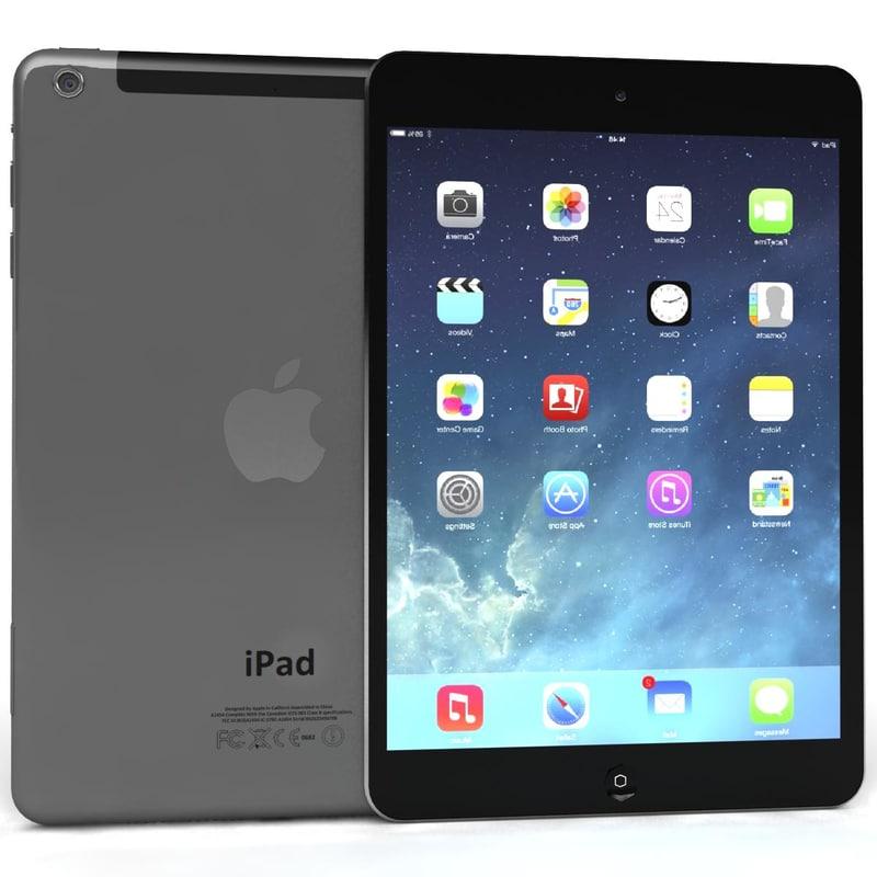 3d max apple ipad air mini