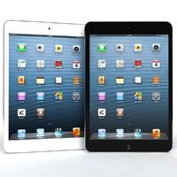 3dsmax apple ipad mini blue