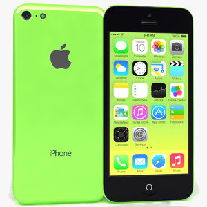 3dm apple iphone 5c green