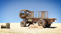 obj mongo heist truck wheel