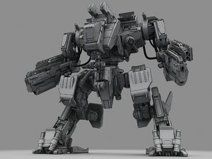 3d battle robot