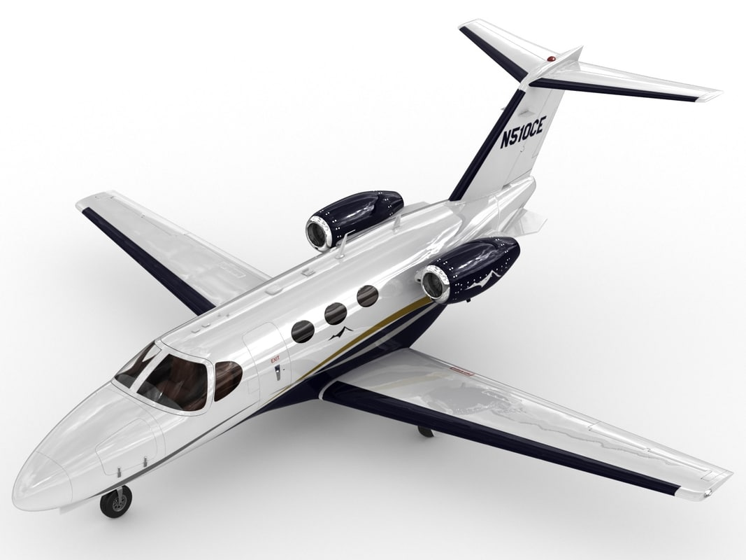 3d c4d cessna 510 citation mustang