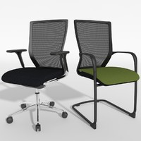 chair sidiz stl 3d model