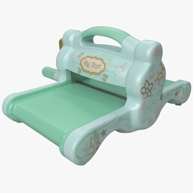 cutting embossing roller sizzix 3ds