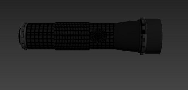 flashlight 3d max