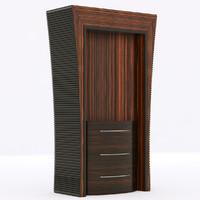 3d model molon l502 bookcase