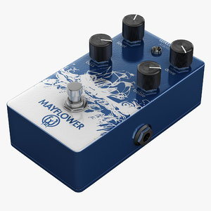 3dsmax guitar overdrive pedal walrus