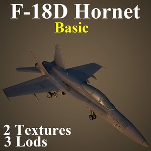 3d boeing basic fighter model