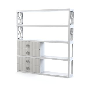 lineas taller bookcase 3d model