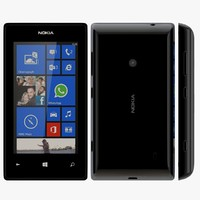 3d nokia lumia 525 black