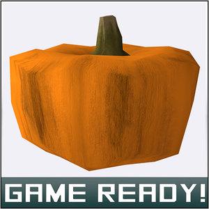 3ds max autumn pumpkin 4
