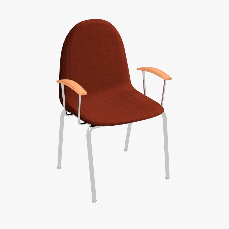 basic chair 3d model