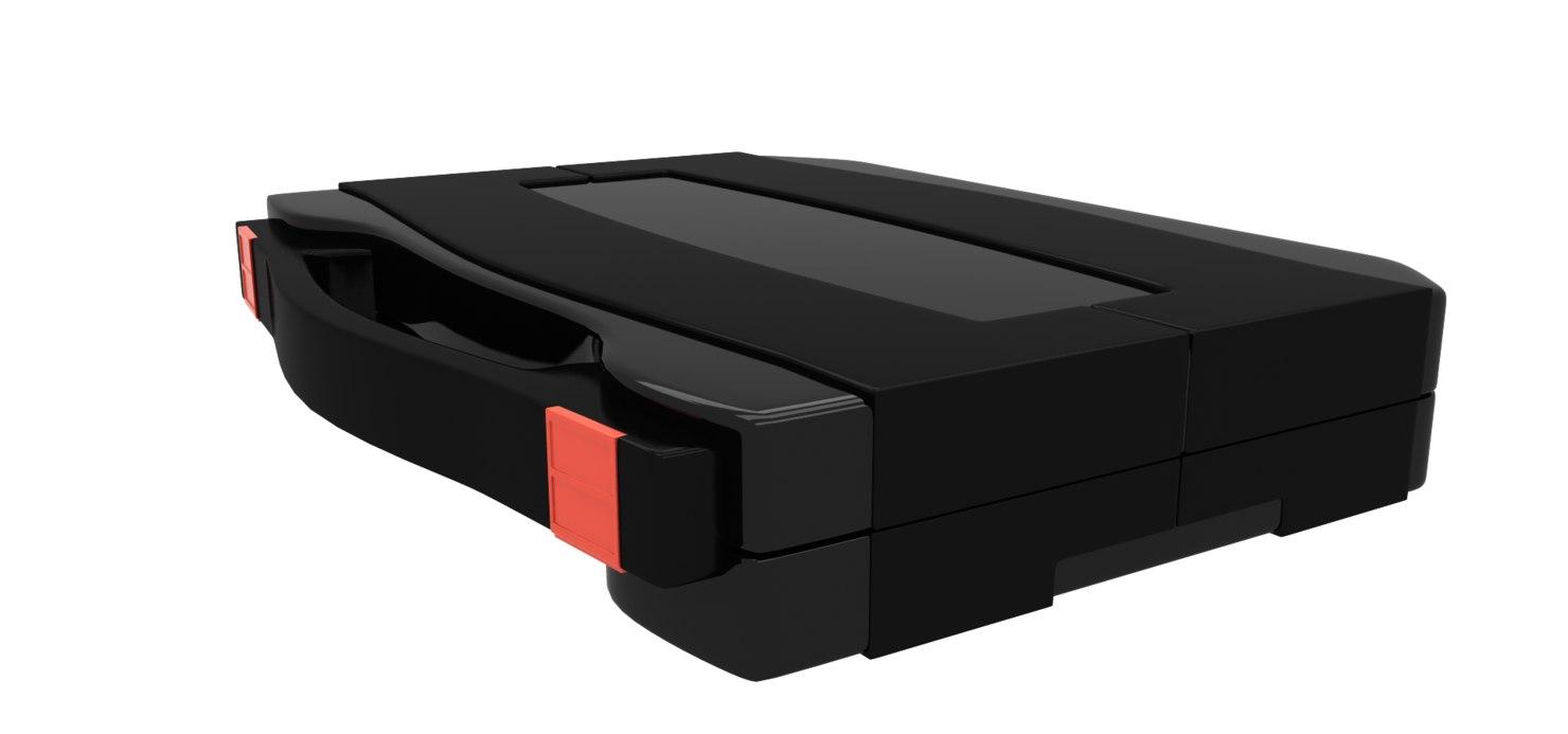 3d black thor case model