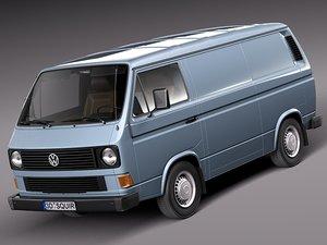 3d model classic 1979 1988 van