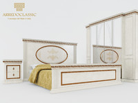 3d model of classic versailles arredo