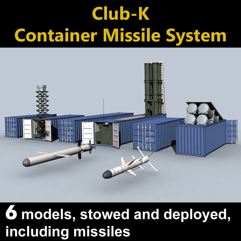 Club k container missiles x for Surface container