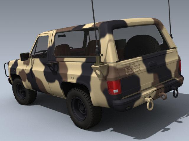 army m1009 cucv desert camouflage max