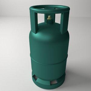 3ds gas cylinder