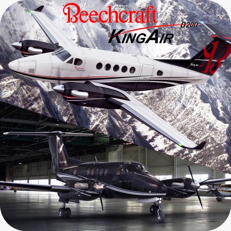 max beechcraft king air 250