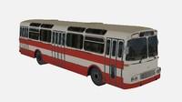 3d model karosa city bus