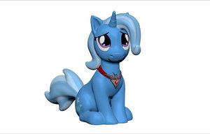 pony trixie 3d max