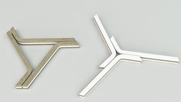3d model of trivet