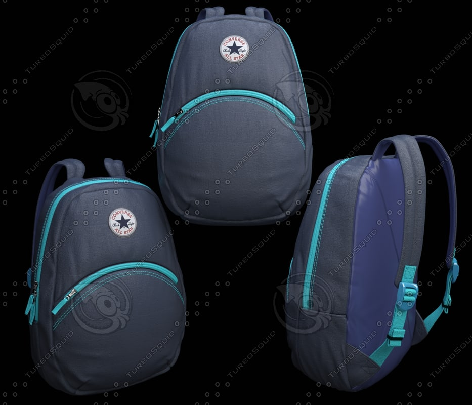 3d converse backpack
