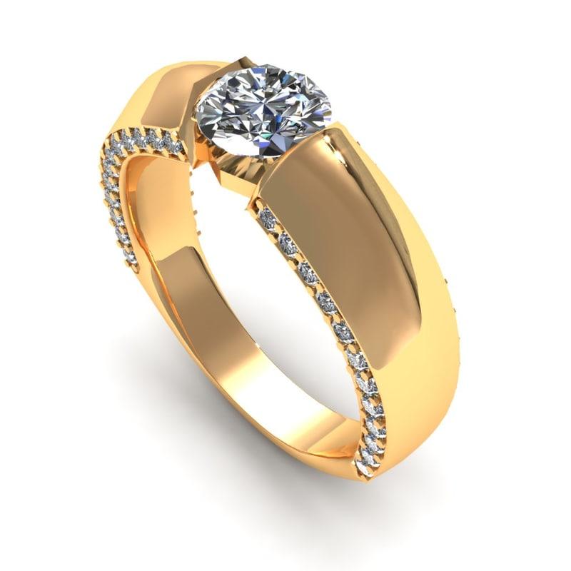 3d diamond jewelry