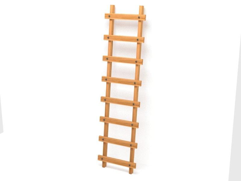 3ds max basic ladder