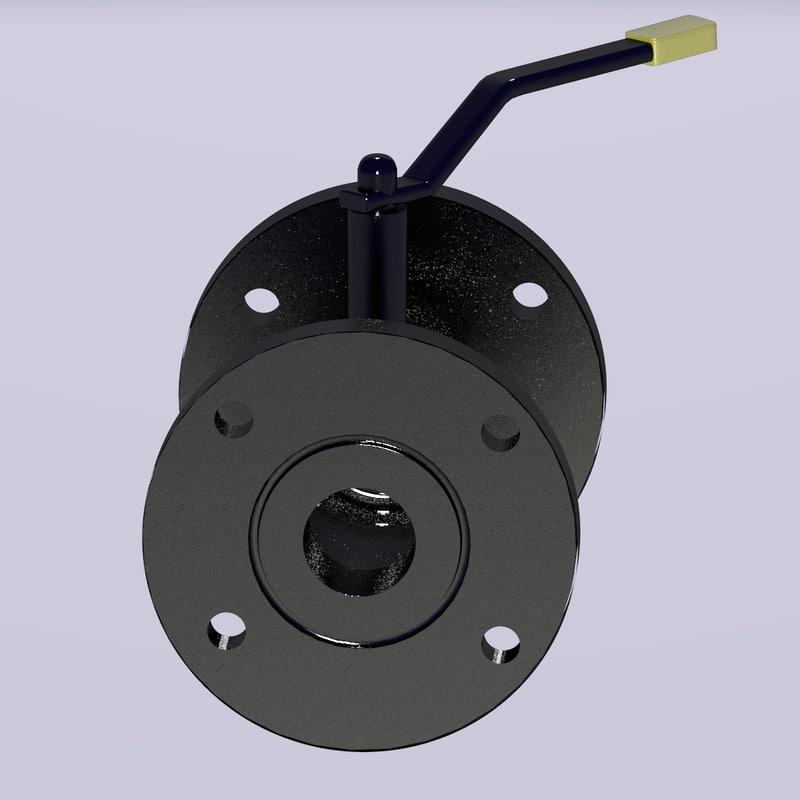 oil valve 3d model