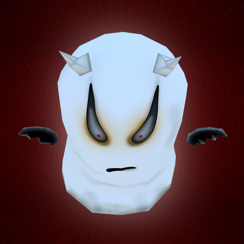 3d model character ghost 2011