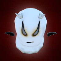 Ghost_Low Poly Character MAX 2011