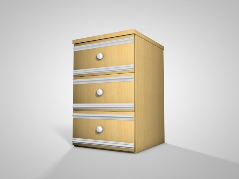 c4d chest drawers