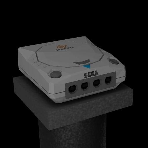 3d model sega dreamcast