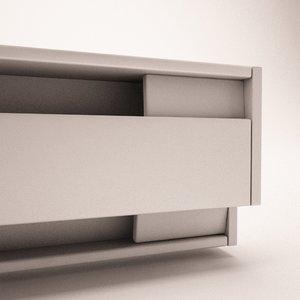 electric baseboard heater 3d c4d