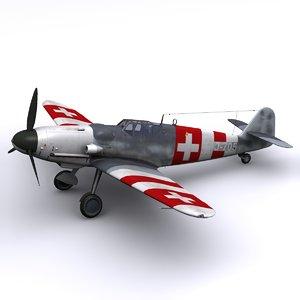 german fighter swiss 3d model