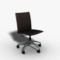 gator chair desk 3d model