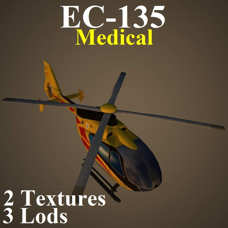 3d eurocopter med