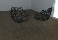 3d 3ds chair forest