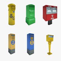 spain post mailbox 01 3d 3ds