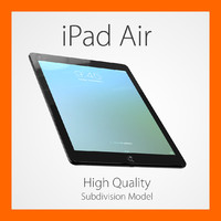 apple ipad air c4d