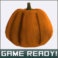 autumn pumpkin 2 3d model