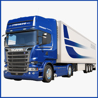 scania streamline 2013 3d obj