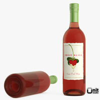 bottle wine pink max