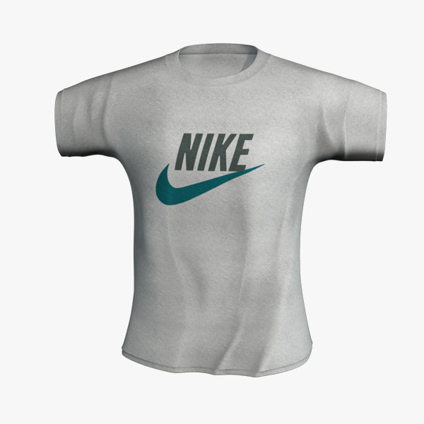 nike t-shirt 3d model